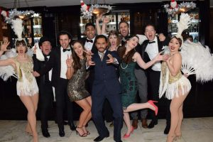 great gatsby christmas party event