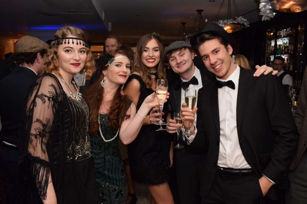 1920s christmas party london