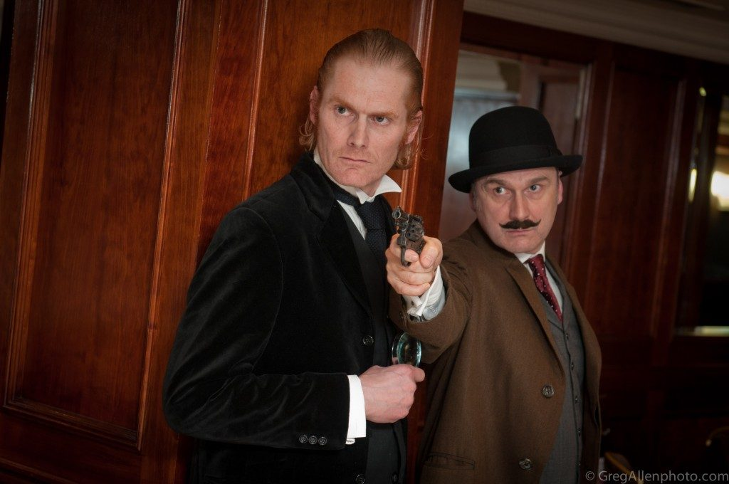 murder mystery christmas party london